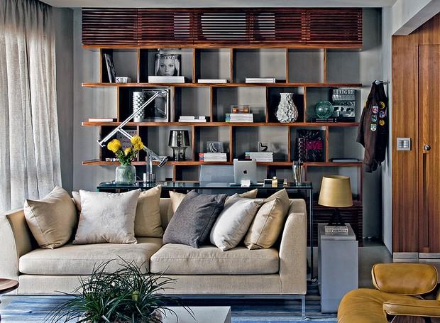Manter a casa organizada é uma dos hábitos para adotar em 2017. Projeto de Diego Revollo (Foto: Divulgação)